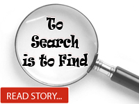 To Search is To Find